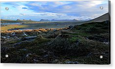 View Of Clogher Beach And The Three Sisters Acrylic Print
