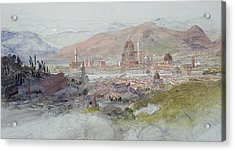 View Of Florence Acrylic Print by Samuel Palmer