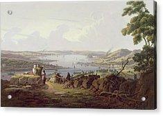 View Of Greenock, Scotland Acrylic Print by Robert Salmon