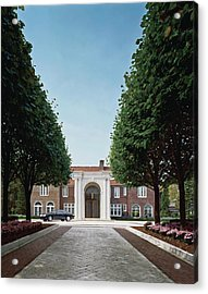 View Of House And Pavement Acrylic Print