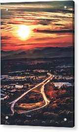 View Of Lynchburg Acrylic Print