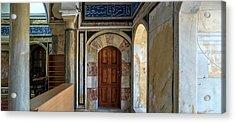 View Of Mosque, El-jazzar Mosque, Acre Acrylic Print