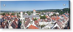 View Of Old Town With Liebfrauenkirche Acrylic Print by Panoramic Images