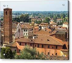 View Of Pietrasanta Acrylic Print