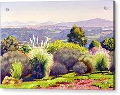 View Of Rancho Santa Fe Acrylic Print