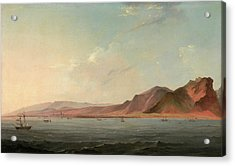 View Of Santa Cruz, Tenerife Signed And Dated Acrylic Print