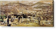 View Of Sheffield England Acrylic Print by Granger
