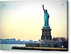 View Of Statue Of Liberty Acrylic Print by Nicolas Daumas / Eyeem