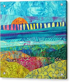 View Of The Bridge Acrylic Print by Susan Rienzo