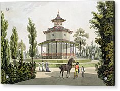 View Of The Chinese Summer House Acrylic Print by Laurenz Janscha