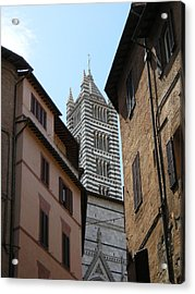 Acrylic Print featuring the photograph View Of The Duomo by Victoria Lakes