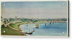 View Of The French Settlement Acrylic Print by British Library