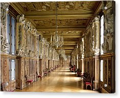 View Of The Galerie Francois I Acrylic Print