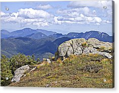 View Of The Great Range From Algonquin Acrylic Print