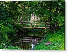 View Of The Grist Mill At Waterloo Village Acrylic Print