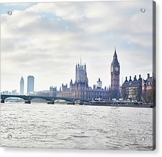 View Of The Houses Of Parliament And Acrylic Print by Frank And Helena