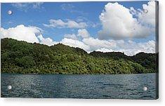 View Of The Lake Tarawera, Rotorua Acrylic Print