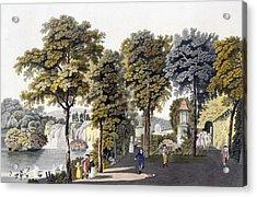 View Of The Park At Neu-waldeg Acrylic Print