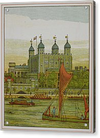 View Of The Tower Of London Acrylic Print