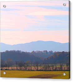 Acrylic Print featuring the photograph View Of The Valley by Candice Trimble