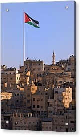 View Of Traditional Houses In Amman Acrylic Print by Keren Su