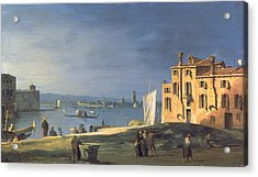 View Of Venice Acrylic Print by Canaletto