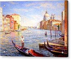 View On Della Salute Acrylic Print
