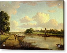 View On The River Thames At Richmond View On The River Acrylic Print by Litz Collection