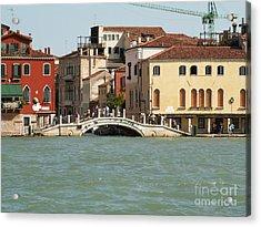 View On Venice Acrylic Print by Evgeny Pisarev