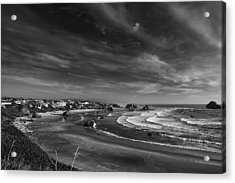 View Over Bandon Acrylic Print by Andrew Soundarajan