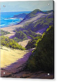 View To Soldiers Beach Acrylic Print