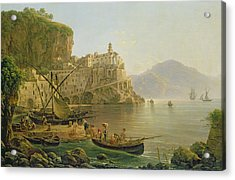 View Towards Atrani On The Amalfi Acrylic Print