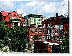 View Towards Lexington Avenue In Asheville Acrylic Print