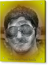 Acrylic Print featuring the digital art View by Visual Artist Frank Bonilla