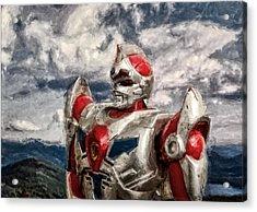 View Wth A Robot Acrylic Print