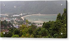 Viewpoint - Phi Phi Island - 01132 Acrylic Print by DC Photographer
