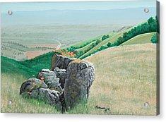Views From Canada De Los Osos #1 Acrylic Print