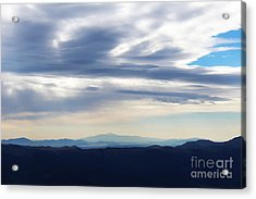 Acrylic Print featuring the photograph Views From Mt. Elbert by Kate Avery