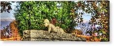 Vigilance - Gettysburg National Military Park - Late Afternoon Autumn Acrylic Print