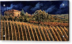 Vigne Orizzontali Acrylic Print