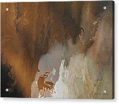 Vii - Mirky Wood Acrylic Print
