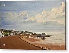 Viking Bay Broadstairs Kent Uk Acrylic Print by Martin Howard