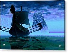 Viking Journey Acrylic Print by Dan Terry