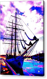 maybe you and I will go out sailing tomorrow  Acrylic Print by Hilde Widerberg