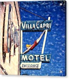 Villa Capri Acrylic Print