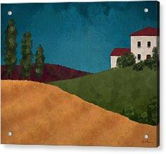 Villa I Acrylic Print by April Moen