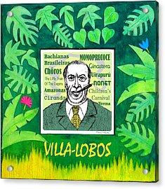 Villa-lobos Acrylic Print by Paul Helm