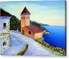 Villa Of Dreams Acrylic Print