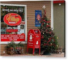Village Christmas Acrylic Print