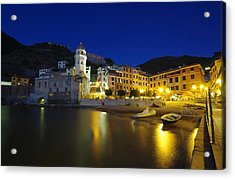 village in Italy Acrylic Print by Ioan Panaite